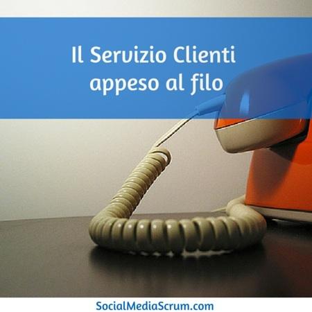 L'era del cliente e la nostalgia del telefono fisso