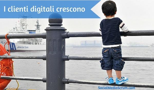 Da bambino a cliente digitale nell'era del social customer service