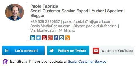 Firma Paolo Fabrizio