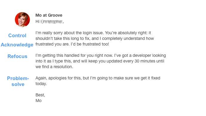 Email servizio clienti