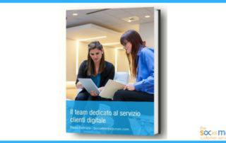 team dedicato al servizio clienti digitale
