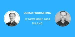 Corso Podcasting
