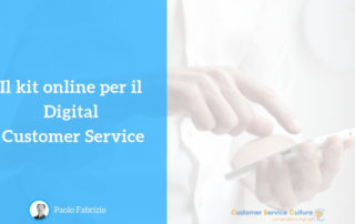 Kit online Digital Customer Service