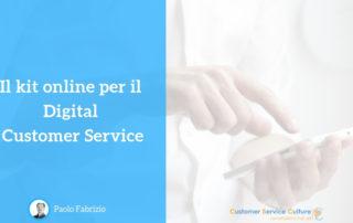 Kit online Digital Customer Service