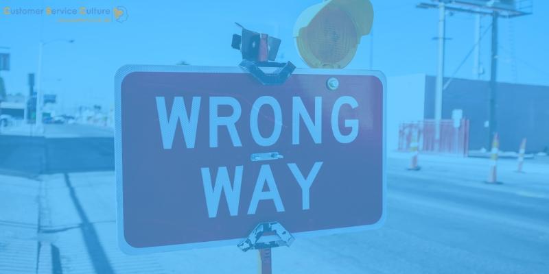 3 gravi errori nell'assistenza clienti online