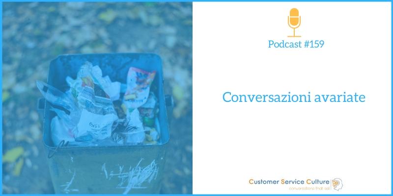 Cosa stai facendo per non inquinare l'esperienza del cliente?